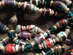 IC1 Iron Craft - Paper Beads Close Up
