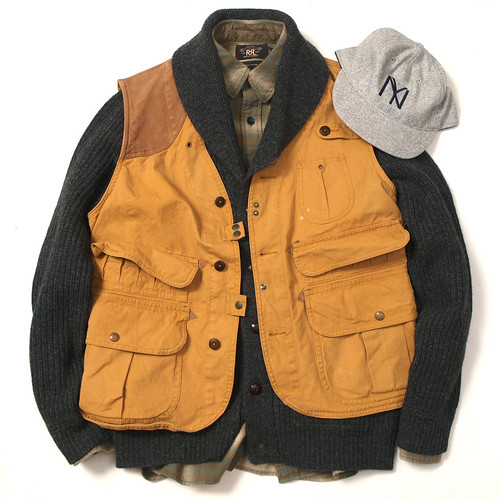 Ralph Lauren / Baxter Cotton Canvas Vest