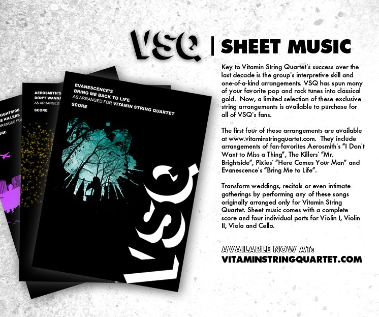 Latest News Tagged Vitamin String Quartet Song List Vitamin