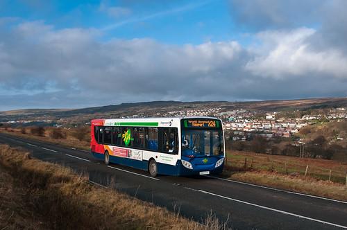 bus blaenavon x24 alexanderdennis enviro300 stagecoachsouthwales