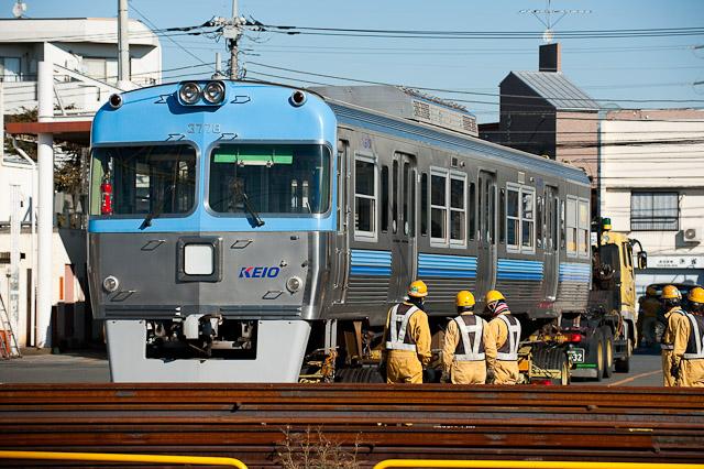 京王電鉄井の頭線 3000系 3028F クハ3778 搬出