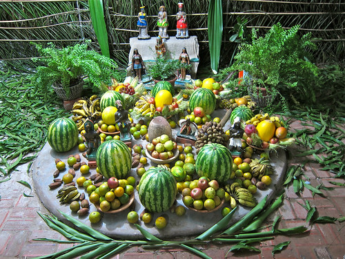 Caboclo altar