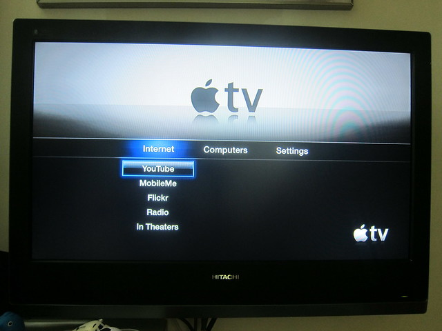 Apple TV - Main Screen