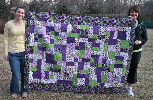 Janice's First Quilt