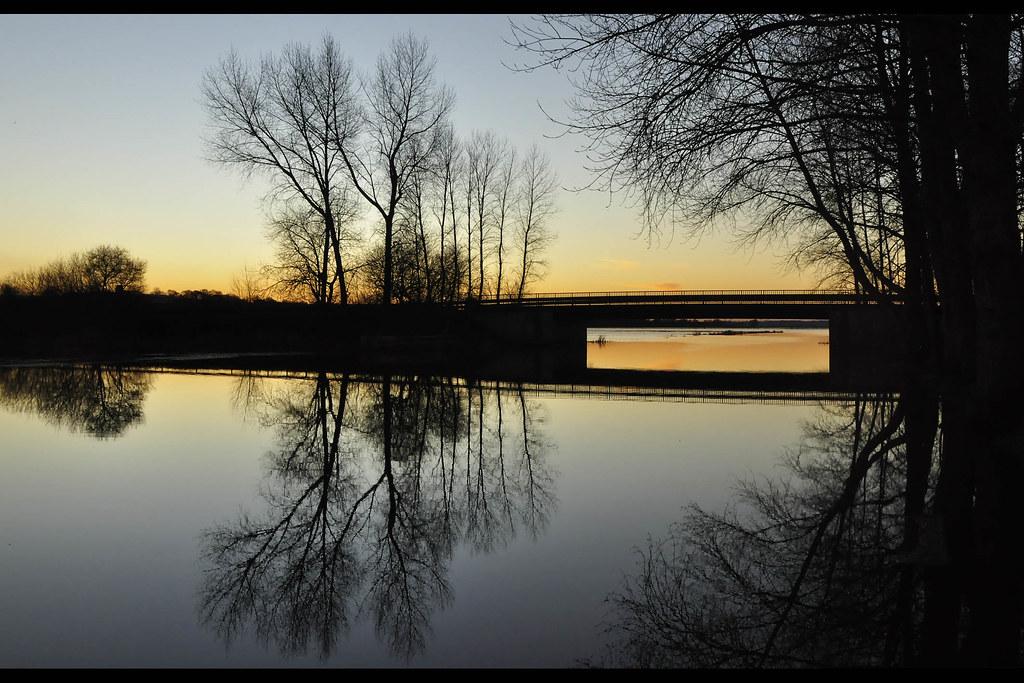 Coucher de Soleil sur le marais - Picauville (2071)