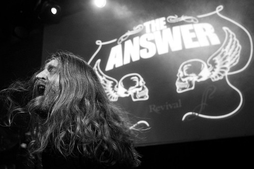 The Answer @ Mascotte - Zurich