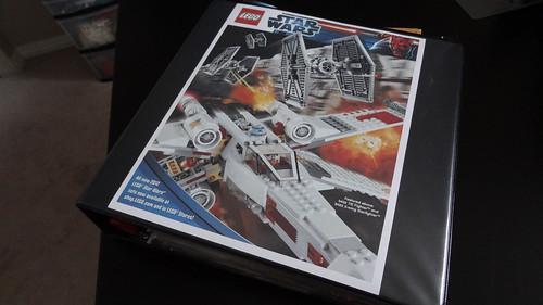 LEGO Binder Cover