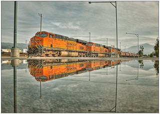 BNSF Locomotive 7312