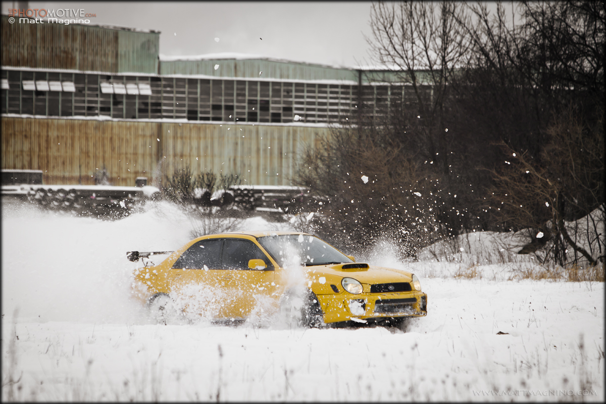 Subie's in the snow!!! 6747088547_982a31cb42_o