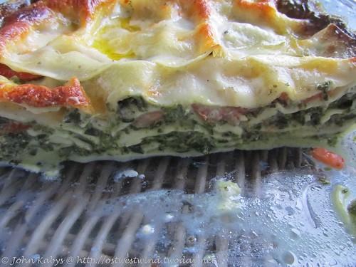 Spinat-Lasagne ohne Tüte (2)