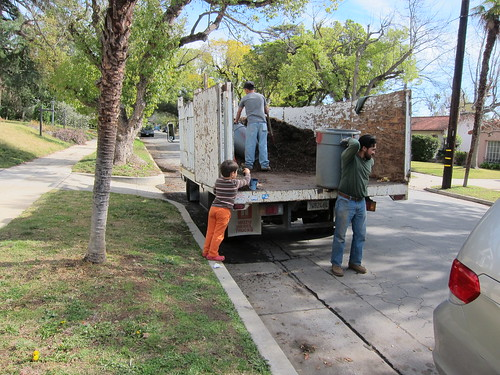 Giant truck o' mulch