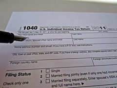 TAX RETURN FORM 1040