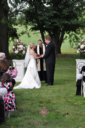 Whitehall Manor Wedding Ceremony by Diamond Events