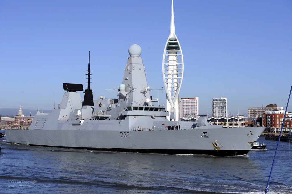 type 45 13 years 6 billion quid and six ships think