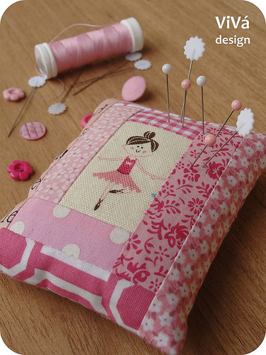 Ballerina Pincushion