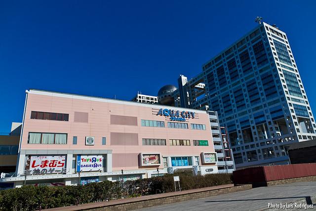 Centro comercial Aqua City en Odaiba