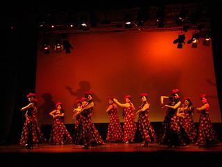 Escuela flamenca Ana Manrique clausura curso junio 2011 Tenerife 45