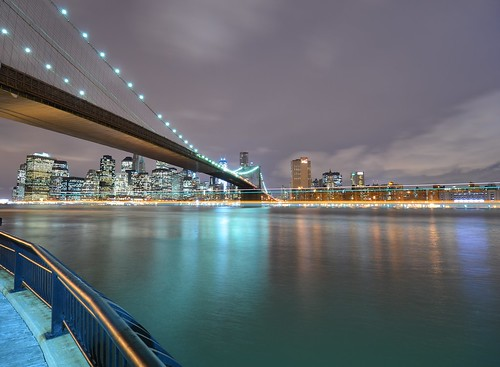 East River by Wade Bryant