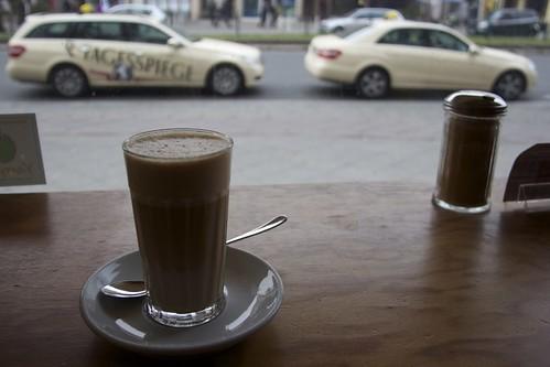 Cafeinee-free, lactose-free Latte at Impala
