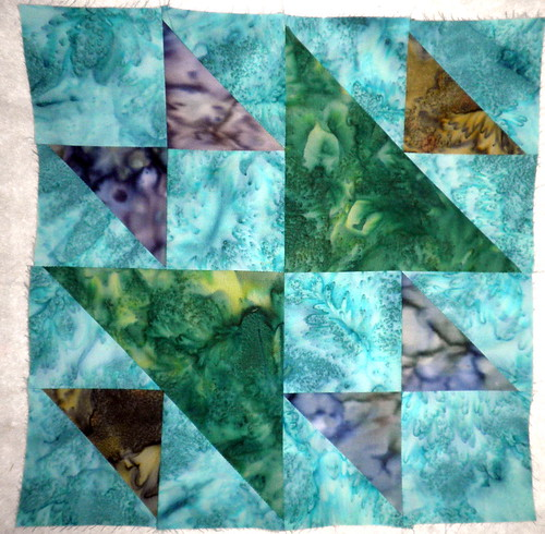 FabricFascination Block fo the Month