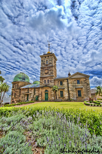 Sydney Observatory c.1858