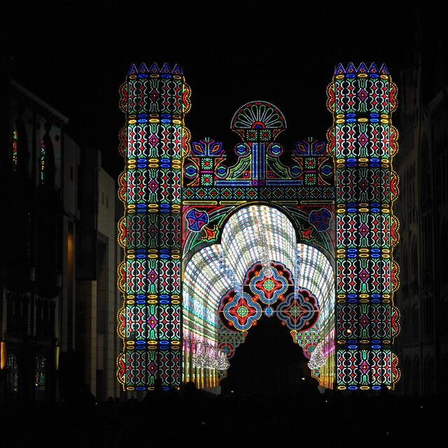 Lichtfestival Gent - De Cagna