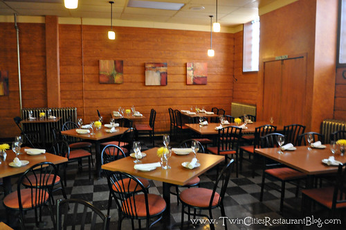 Dining Room at Kafe 421 ~ Minneapolis, MN