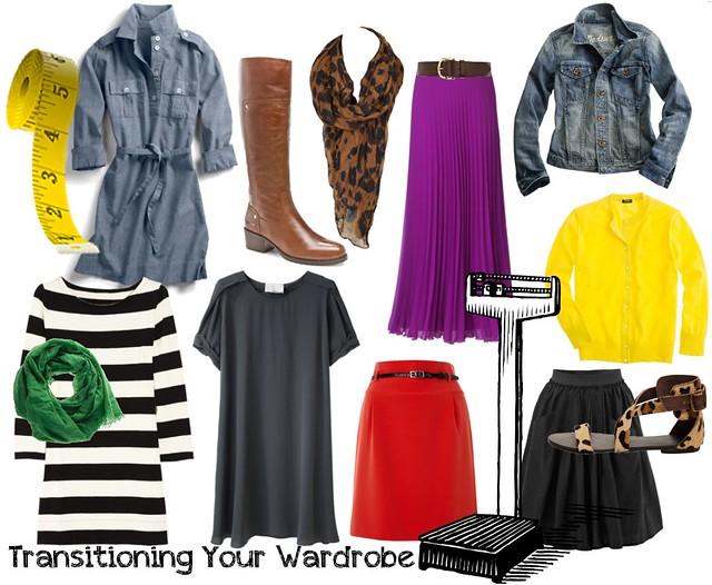 Transitioning your wardrobe
