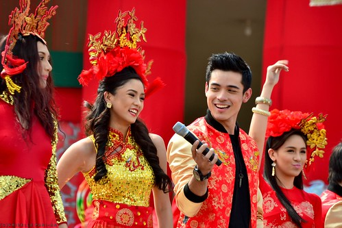 Kim Chiu with Xian Lim