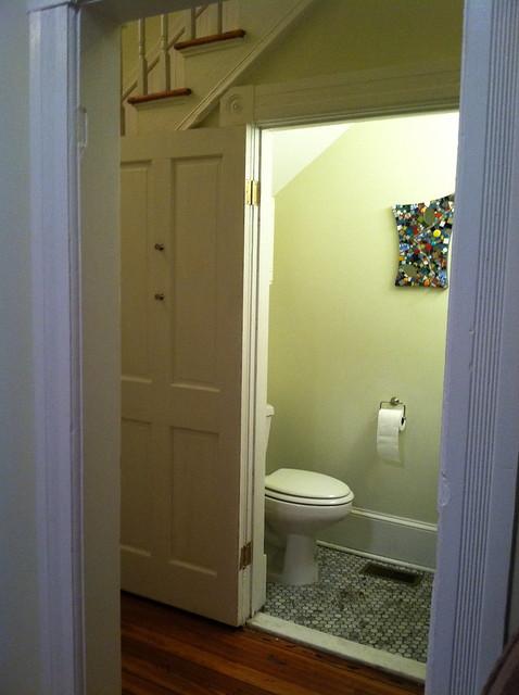 1 2 Bathroom Under Stairs Flickr Photo Sharing