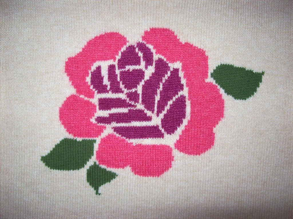 DKNY rose sweater
