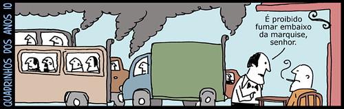 O carro é o cigarro do planeta, por André Dahmer