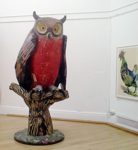 One of Ivor Abrahams' owls