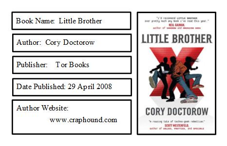Little Brother Bookplate