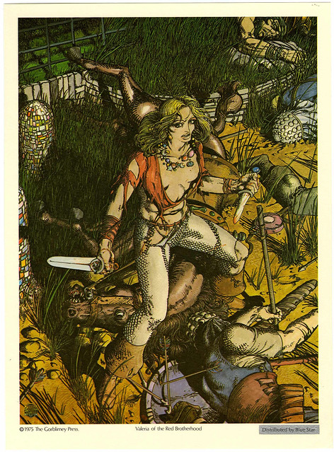 Valeria - Barry Windsor Smith 1975 Robert E. Howard Portfolio