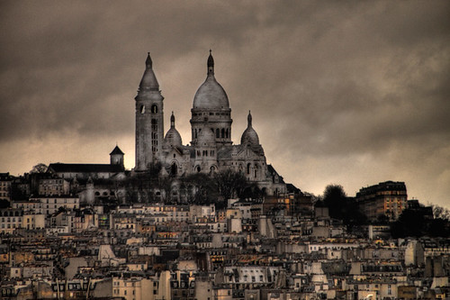 Sacré Coeur - París by chucafox