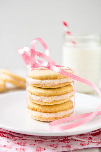 Pink Grapefruit Sandwich Cookies | Confections of a Foodie ...
