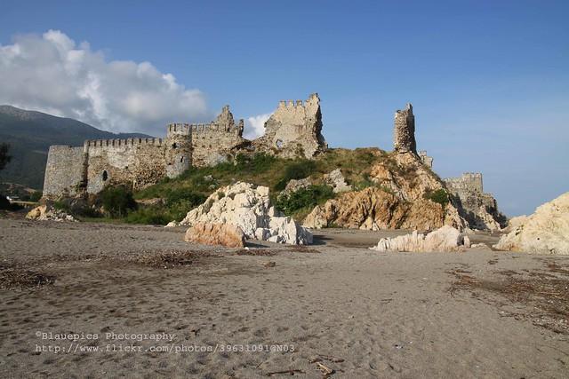Anamur, Mamure castle