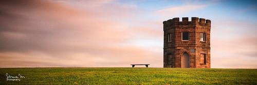 panorama tower castle sunrise canon bench sydney australia nsw 7d watchmen barracks laperouse