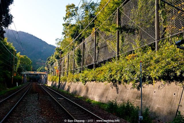 嵐山路上 渡月橋