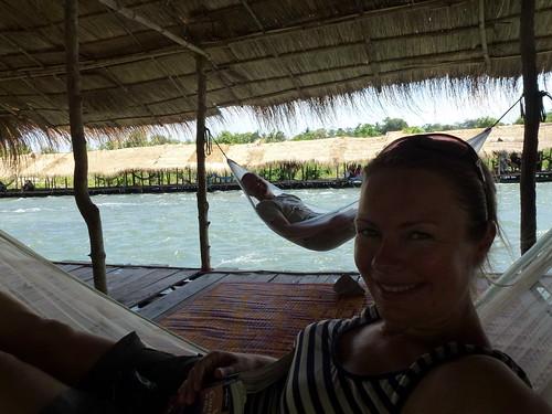 Kratie - Mekong rapids bij Kampi - 1