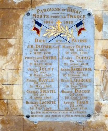 Birac-sur-Trec - L'Eglise Saint Georges 03
