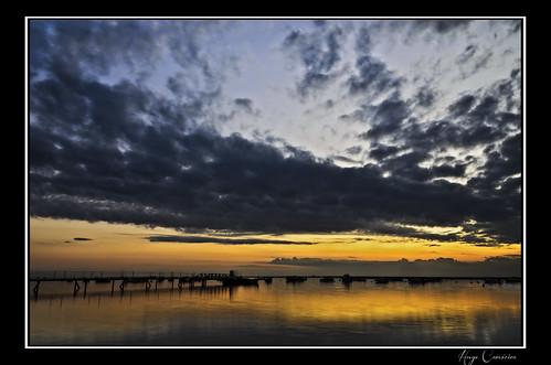 sunset reflection portugal marina faro boats golden nikon ii nikkor ria vr 18200mm d7000