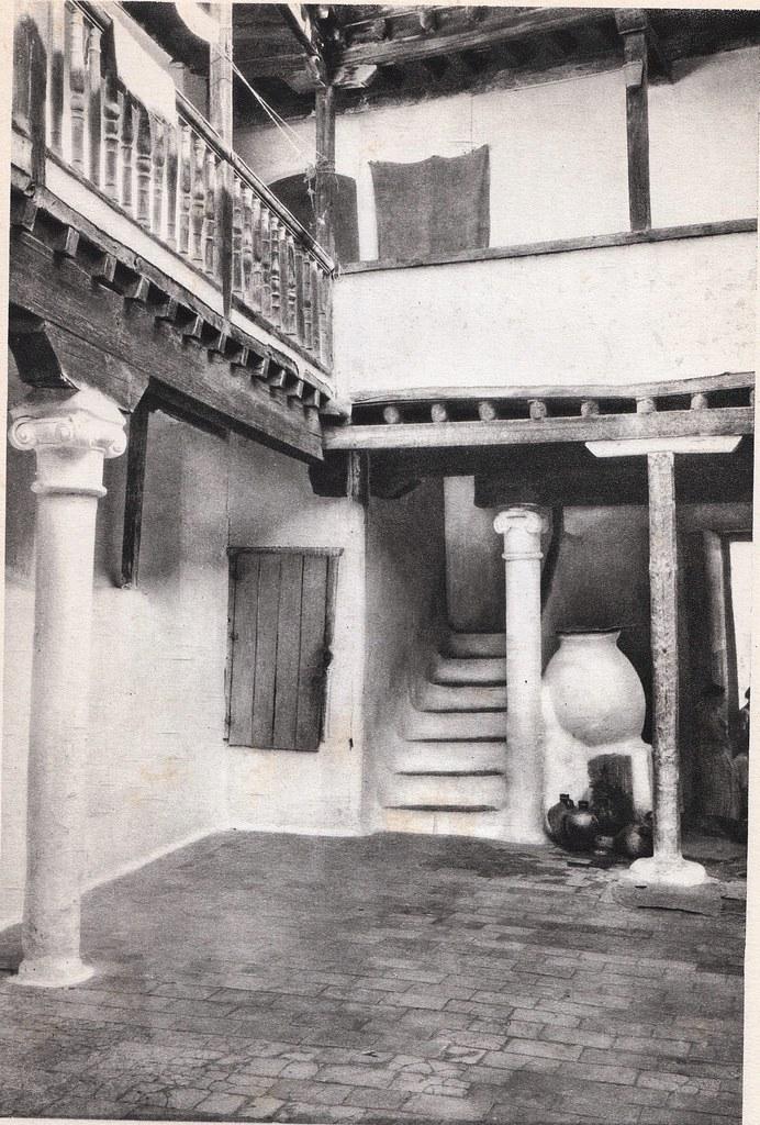 Mesón del Sevillano a comienzos del siglo XX. Fotografía Rodríguez