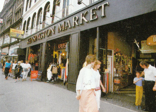 Kensington Market exterior 1986 (from Ni Ikitai London)