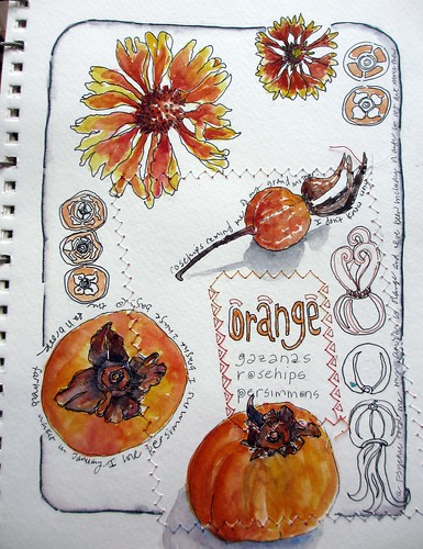 My sketchbook ~ orange