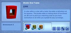 Blokki End Table