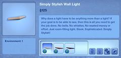 Simply Stylish Wall Light