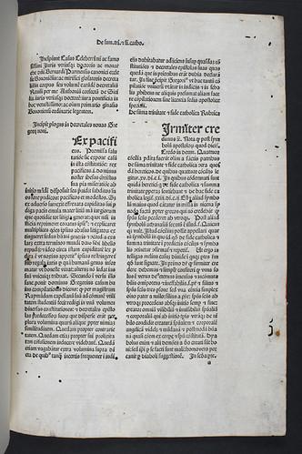 Title incipit of Bernardus Parmensis: Casus longi super quinque libros decretalium