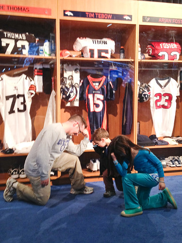 Family Tebow Time